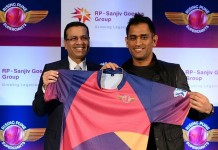 Rising Pune Supergiants Launched their jursey today