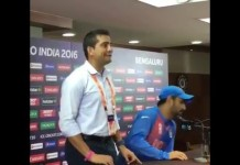 MS Dhoni got Angry
