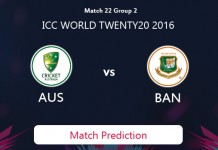 AUSTRALIA V BANGLADESH Match Prediction