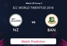 BANGLADESH V NEW ZEALAND Match Prediction