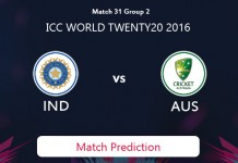 INDIA V AUSTRALIA Match Prediction