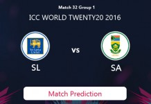 SOUTH AFRICA V SRI LANKA Match Prediction