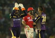 KKR now top of the table