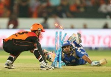 Sunrisers register thier first win of the season