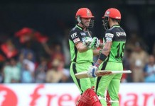 Raining Sixes in Banglore, RCB won by 144 runs