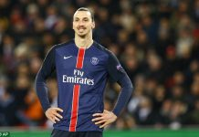 Zlatan Ibrahimovic will get £300,000 a week for one year