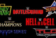 Confirmed WWE Pay-Per-View Schedule