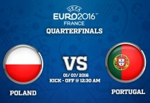 1st Quarter Final : Poland vs Portugal match Prediction