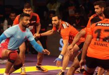 Pro Kabaddi 2016 Season 4 Point Table
