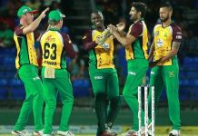 DR Smith helps Amazon Warriors to beat St Kitts & Nevis Patriots by 4 wickets