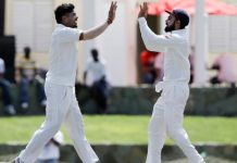 India vs West Indies 1st test Day-3, India – 566/8 dec, West Indies – 245 & 21/1