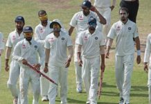 India won by an innings and 92 runs, lead in series 1-0
