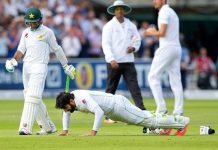 Misbah-ul-Haq's push up celebration goes viral