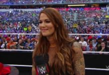 Lita back in a action with Raw