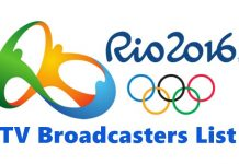 Rio 2016 Summer Olympics officially TV channels and live streaming