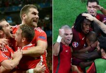 Portugal vs Wales 1st Semi Final Live Telecast TV channels