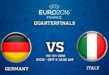 3rd Quarter Final : Germany vs Italy match Prediction