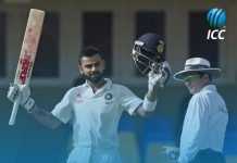 Another milestone : First double hundred for Virat Kohli