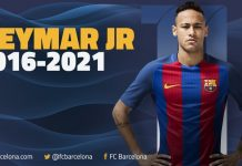 NEYMAR has signed a new 5 year deal at Barcelona