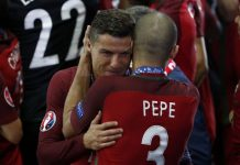 Pepe: We won Euro 2016 for Cristiano Ronaldo