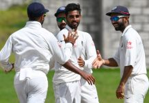 India vs West Indies 3rd test Day-4, India – 353 & 157/3, West Indies – 225