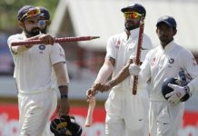 India won the third test match by 237 runs