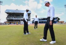 India vs West Indies 4th test Day-2, No play