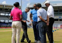 India vs West Indies 4th test Day-4, No play