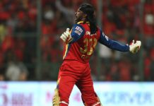 Chris Gayle completes 700 sixes in T20 cricket