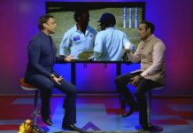 Sehwag wish birthday to Shoaib Akhtar in his style
