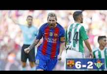 Barcelona 6-2 Real Betis Highlights : Suarez and Messi on fire