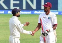 West Indian batsmen saved test match by special effort on Day 5