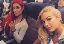 Eva Marie and Maryse are on Vacation