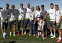 Real Madrid stars with their Family