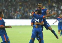 Historic win ! Indian football team beat Puerto Rico by 4-1