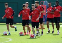 Liverpool 22-man squad for 2016-17
