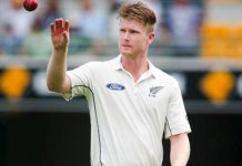 Jimmy Neesham ruled out from 1st test due to rib injury