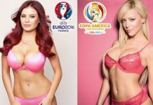 Interesting Football contest, WAGs EURO 2016 vs WAGs Copa America 2016