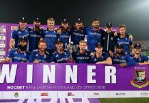 England won the ODI Series by 2-1 against Bangladesh