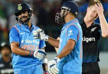 India won 1st ODI comfortably by 6 wickets against New Zealand