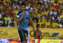 Luis Suarez equals World Cup qualifying goal scoring record