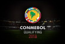 WC Qualification South America Table Groupwise