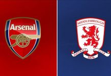 Arsenal vs Middlesbrough Live Streaming and Prediction