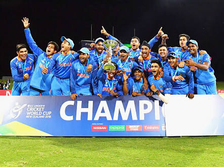 India U19 team became champion 4th time