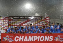 List of Asia cup Winners