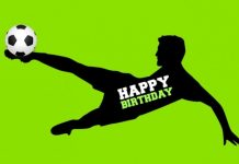 Famous Footballers' birthdays