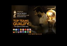 Men's Hockey World Cup 2018 schedule