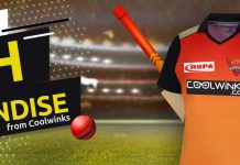 Coolwinks is now principal sponsor of Sunrisers Hyderabad for IPL 2019